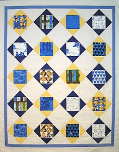 THE MYSTERY OF THE CHARMED QUILT Artist: Julie Domenico ©2013