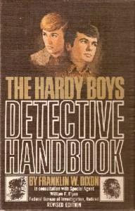 Hardy Boys: THE HARDY BOYS DETECTIVE HANDBOOK, ©1972. Artist: Rudy Nappi, ©1972.