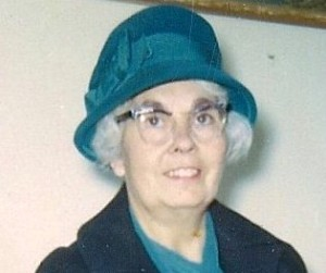 Mary Jane Burns Land, 1911-1976 Date/Location: 1969/Elliot Lake ON