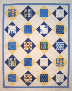 The finished quilt. Artist: Julie Domenico, ©2013