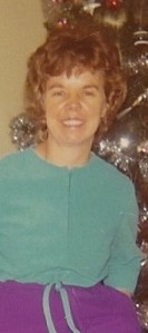 Mary Quigley Land - December 1971 - Elliot Lake ON