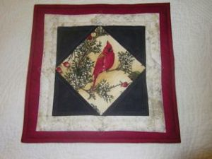 A Picture Quilt - Front View Artist: Julie Domenico, ©2014